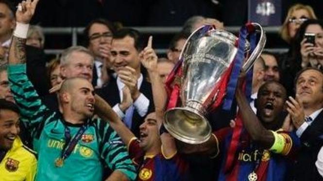 Barcelona juara Liga Champions 2010-11