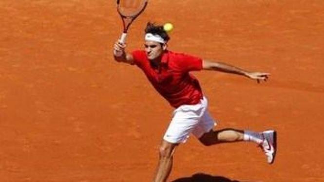 Roger Federer di Perancis Terbuka