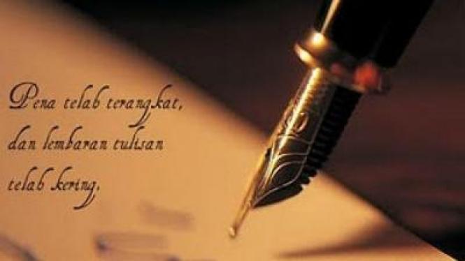 Tulisan Kata