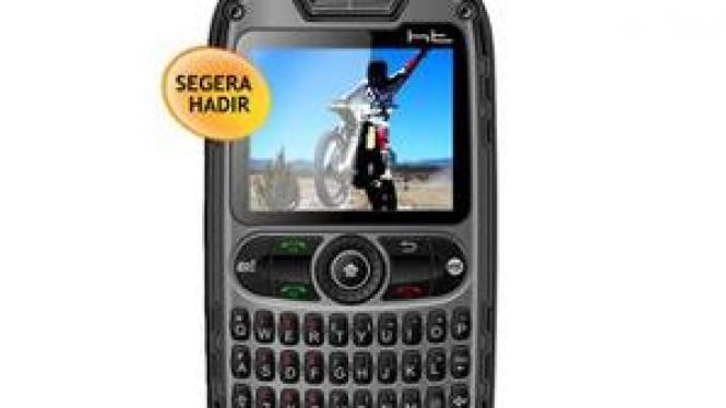 HT Mobile X10, ponsel Qwerty tahan benturan