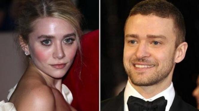 Ashley Olsen & Justin Timberlake