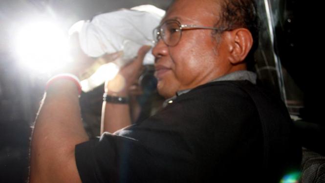 Hakim Pengadilan Negeri Jakarta Pusat Syarifuddin Umar ditangkap KPK