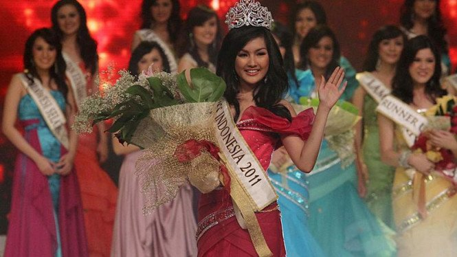 Astrid Ellena, Miss Indonesia 2011