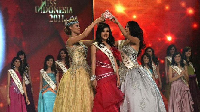 Astrid Ellena, Miss Indonesia 2011