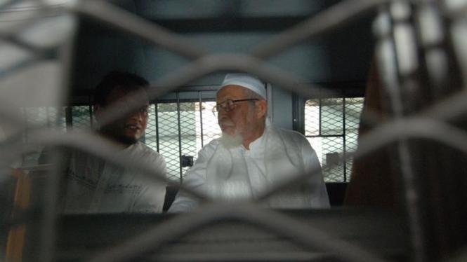 Abu Bakar Ba'asyir Jalani Sidang Duplik