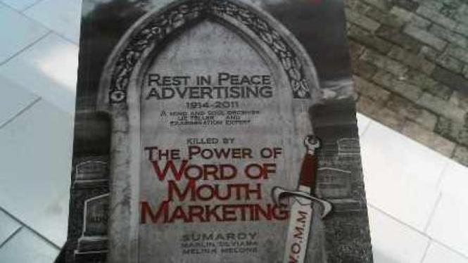 "Buku 'Rest in Peace Advertising"""