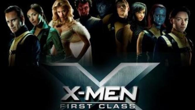 Poster Film 'X-Men First Class'