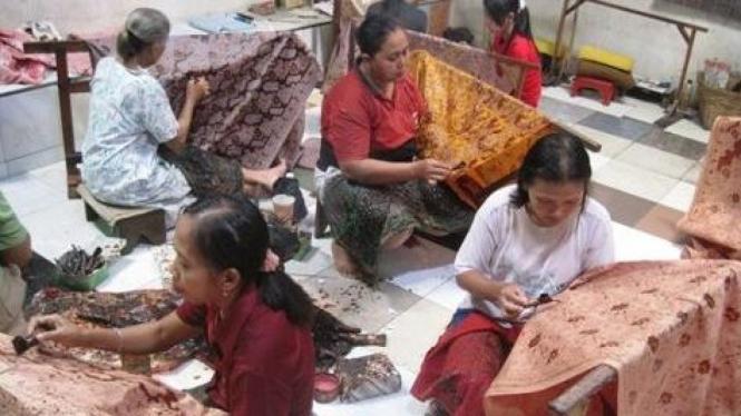pengrajin batik Solo