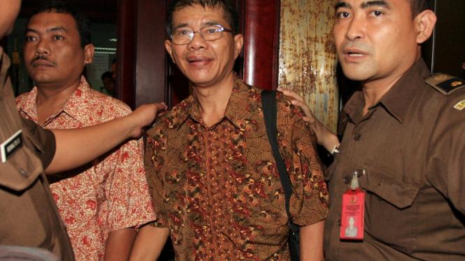Jaksa Cirus Sinaga Jalani sidang di Pengadilan Tipikor