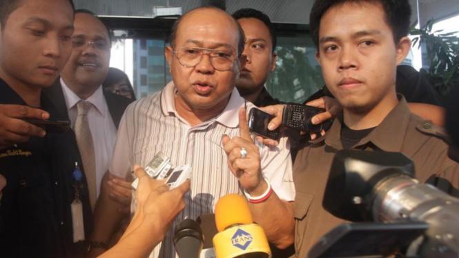 Hakim Syarifuddin diperiksa KPK