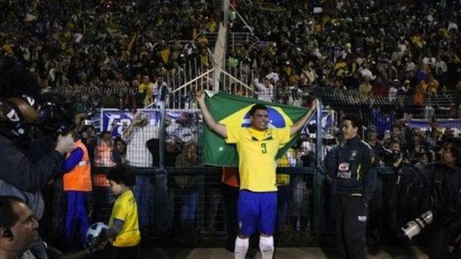 Perpisahan Ronaldo Brazil