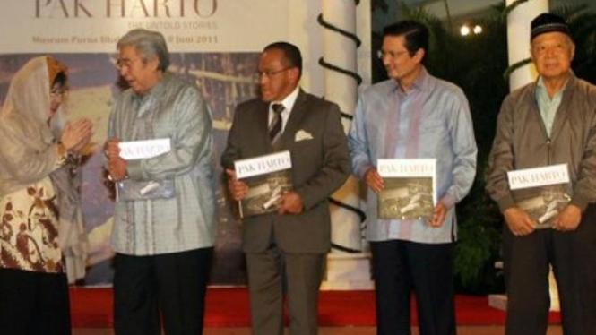 "Book launching of ""Pak Harto, The Untold Stories"" in Jakarta, June 2011"