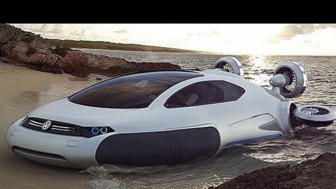 VW Aqua Concept Hovercraft