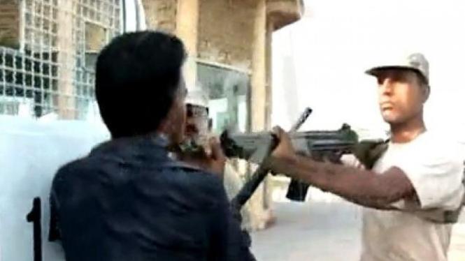 Penembakan Sarfaraz Shah oleh Milisi Pakistan