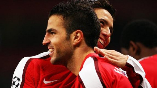 Samir Nasri & Cesc Fabregas