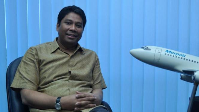 Pres. Director PT. Merpati Nusantara Airlines Capt. Sardjono Jhony Tjitrokusumo