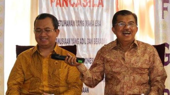 Priyo Budi Santoso dan Jusuf Kalla