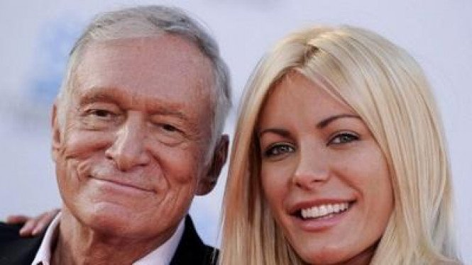 Hugh Hefner & Crystal Harris