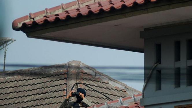 Sniper di Sidang Vonis Abu Bakar Baasyir