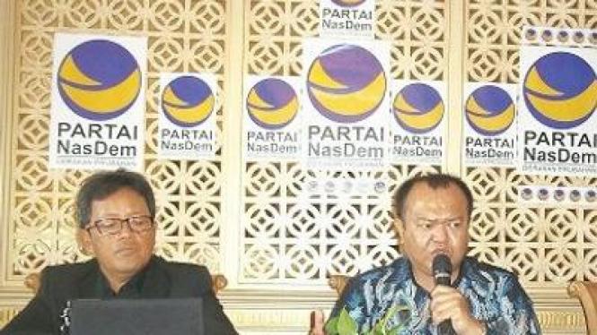Sugeng Suprawoto dan Patrice Rio Capella (Nasdem)
