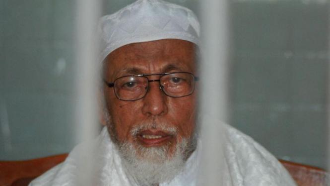 Abu Bakar Ba'asyir Divonis 15 Tahun Penjara