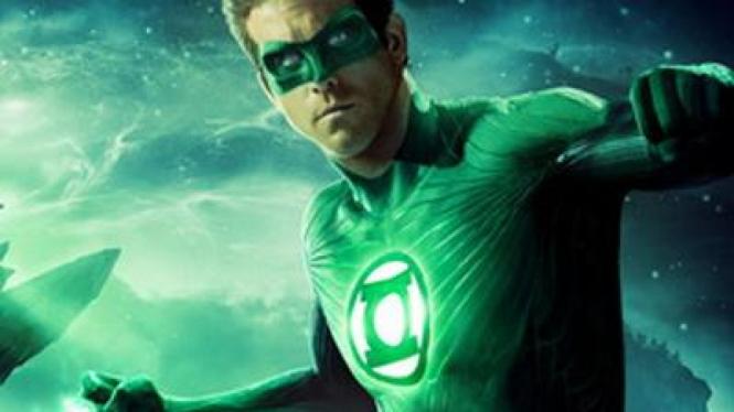 Ryan Reynolds di 'Green Lantern'