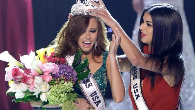 Alyssa Campanella dinobatkan sebagai Miss USA 2011