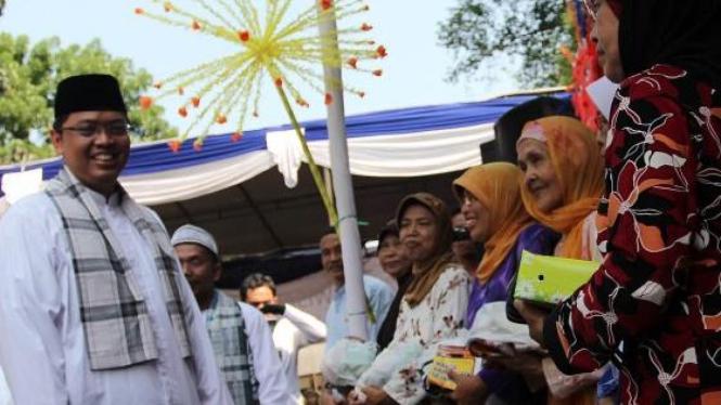Triwisaksana (PKS) bertemu warga