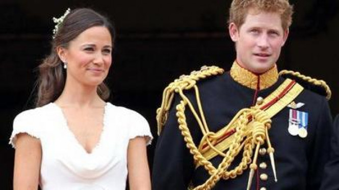 Pangeran Harry & Pippa Middleton