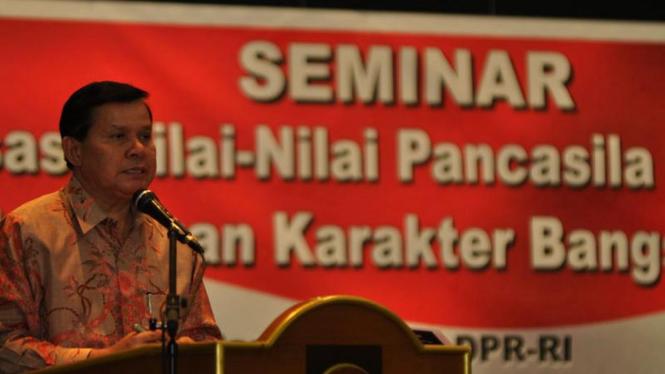 Seminar Reaktualisasi Pancasila Dalam Pendidikan Nasional