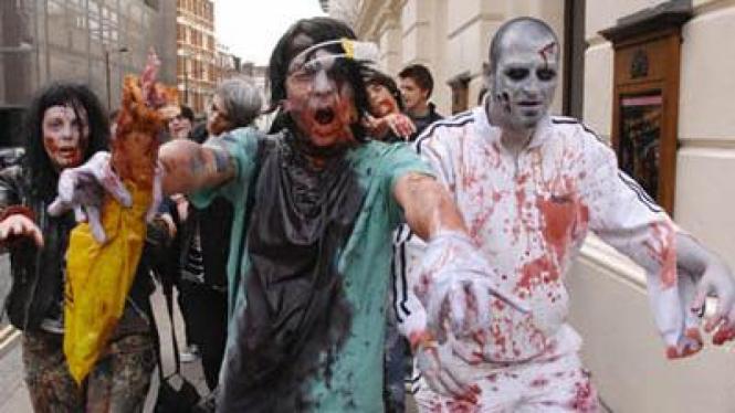 parade zombie
