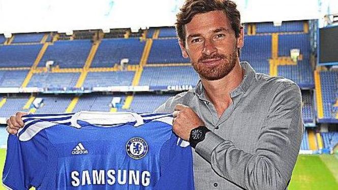 Andre Villas-Boas diperkenalkan Chelsea