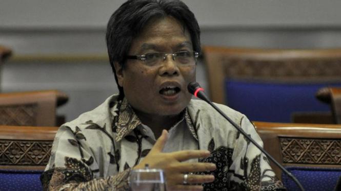 Dubes Indonesia untuk Arab Saudi Gatot Abdullah Mansyur di DPR