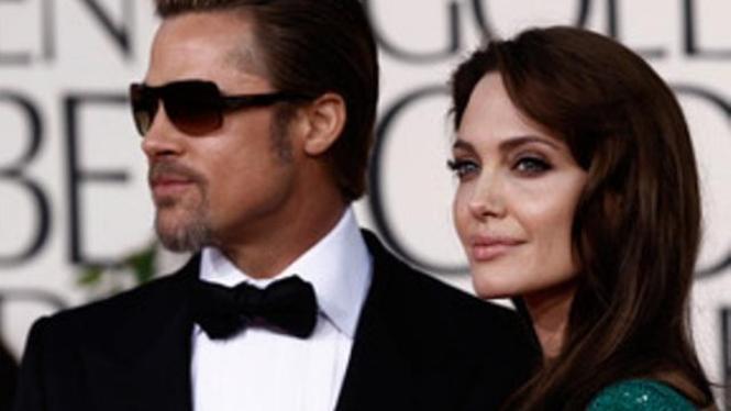 Brad Pitt dan Angelina Jolie