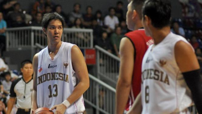 Indonesia VS Singapura Saat SEABA 2011 di Jakarta