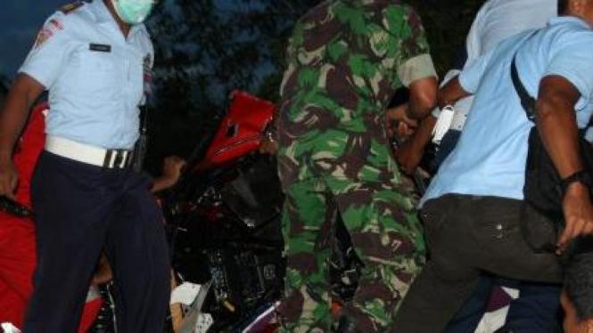 Pesawat yang jatuh di Minang Aero Sport, Padang