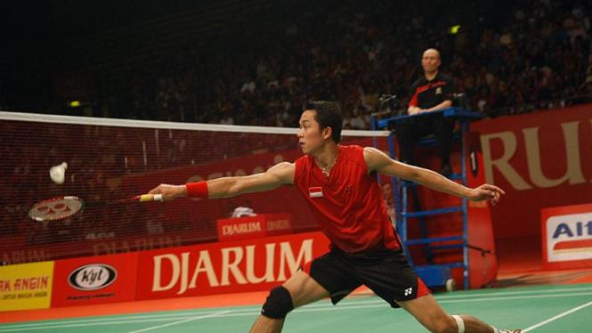 Taufik Hidayat, Djarum Indonesia Open Super Series Premier 2011