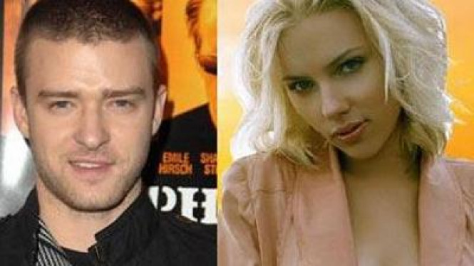 Justin Timberlake dan Scarlett Johansson