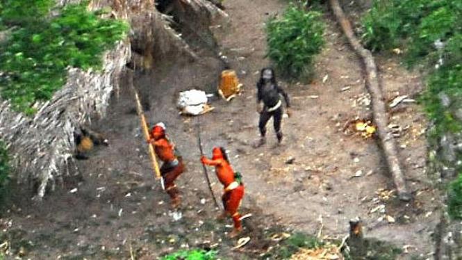 Suku Indian Amazon terasing