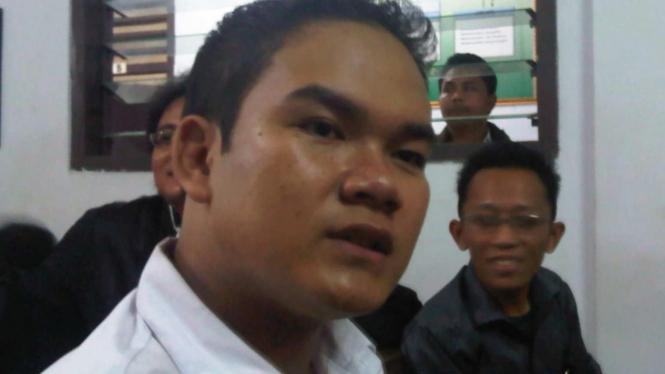 Icha alias Rahmat Sulistiyo di persidangan