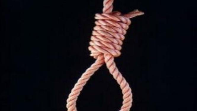 Ilustrasi bunuh diri.