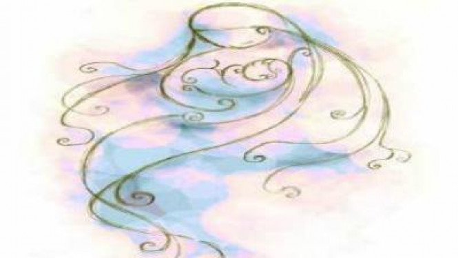 Ilustrasi lukisan Ibu.