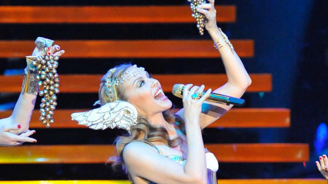 Konser Kylie Minogue di SICC