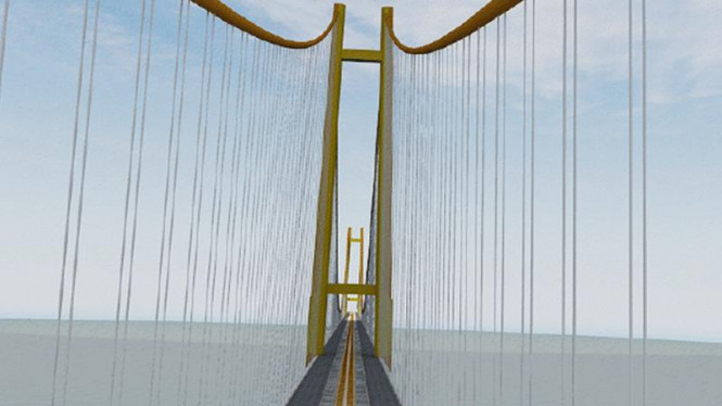 Desain Jembatan Selat Sunda