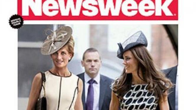 Fptp Putri Diana di cover Newsweek