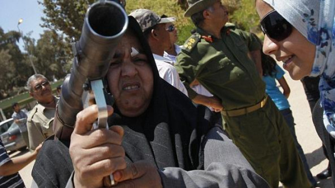 Milisi perempuan Khadafi