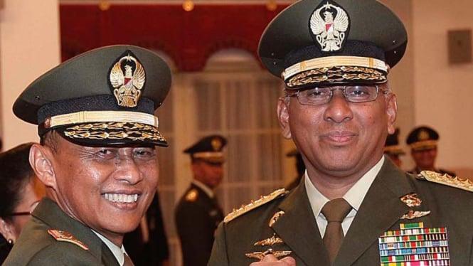 Pelantikan KSAD Jenderal Pramono Edhie Wibowo