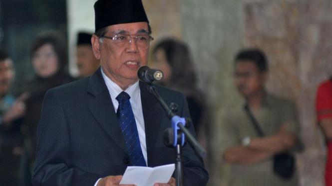Ketua Mahkamah Agung, Harifin A. Tumpa