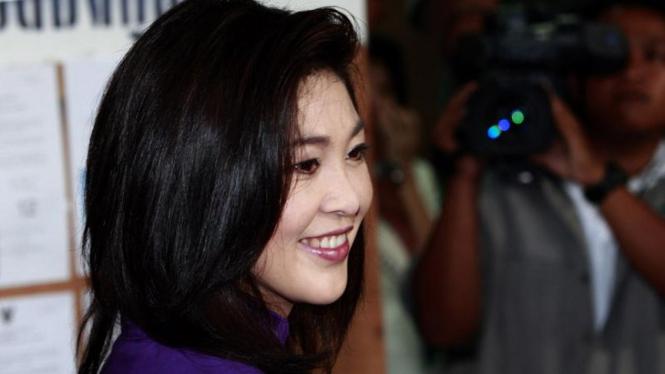 Perdana Menteri terpilih Thailand, Yingluck Shinawatra