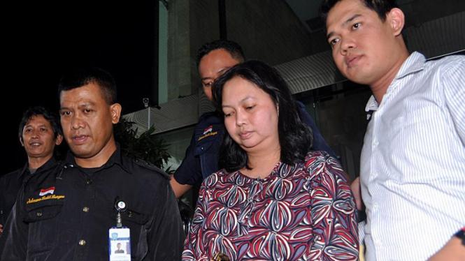 Hakim Imas Dianasari Usai Jalani Pemeriksaan di KPK